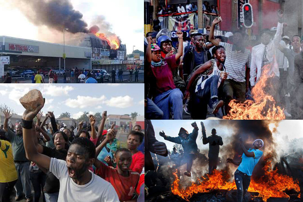 Image result for violent riots south africa